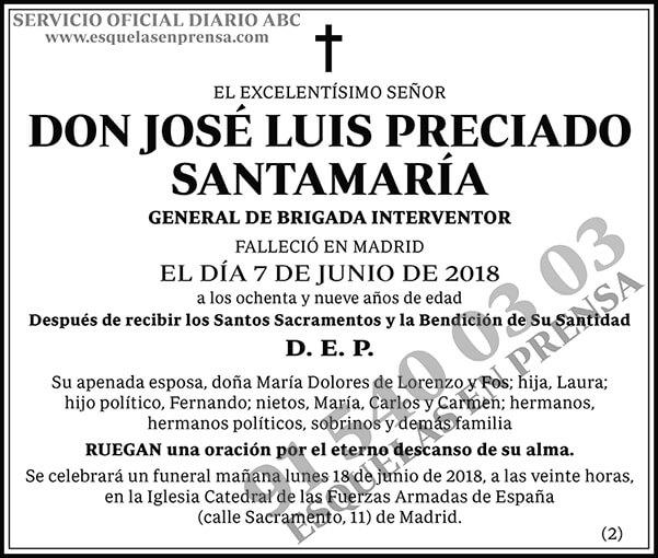 José Luis Preciado Santamaría
